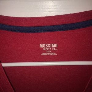Mossimo Supply Co. Tops - Red V neck